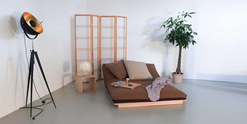 Layti, flexibles Bett für modernes Wohnen