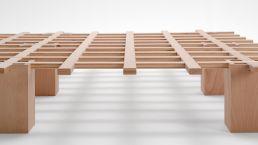 Bett System - In vielen unterschiedlichen Breiten verfügbar
