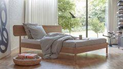 Bett Alken – exklusives Bett aus massiver Eiche