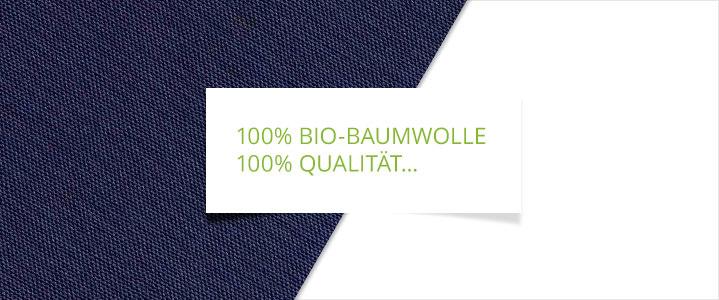 Schonbezug mit Bio-Baumwolle